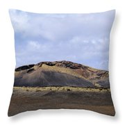 Timanfaya National Park Throw Pillow