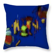 Times Two 10 Throw Pillow