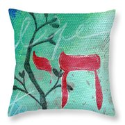To Life Throw Pillow