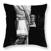 Tobacco Sign Throw Pillow