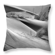 Too Windy Throw Pillow