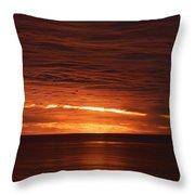 Torrey Pines Sunset Throw Pillow