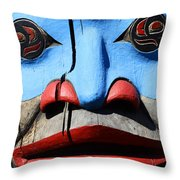 Totem 3 Throw Pillow