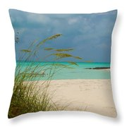 Treasure Cay Throw Pillow