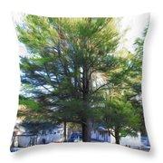 Tree 1 Throw Pillow