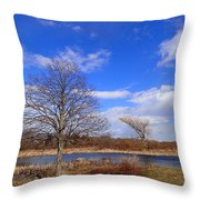 2 Tree Throw Pillow