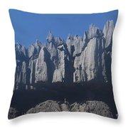 Tsingy De Bemaraha Madagascar Throw Pillow