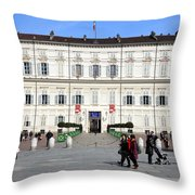 Turin Palazzo Reale Throw Pillow