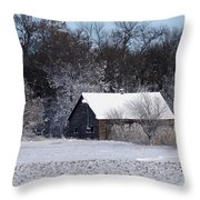 Turn The Page Winter Edition Throw Pillow