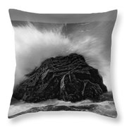 Turned To Stone Throw Pillow