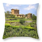 Tuscany - Montalcino Throw Pillow