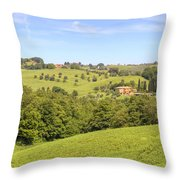 Tuscany - Montepulciano Throw Pillow