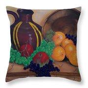 Tuscany Treats Throw Pillow by Sharon Duguay