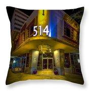 Twiggs 514 Indigo Throw Pillow
