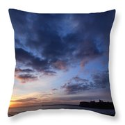 Tynemouth Sunrise Throw Pillow
