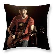 U2 - The Edge Throw Pillow
