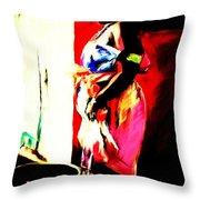 Ugunda Fish Lady Throw Pillow