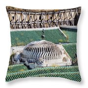 University Of Al-karaouine In Fes In Morocco Throw Pillow