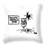 New Yorker October 24th, 2016 Throw Pillow