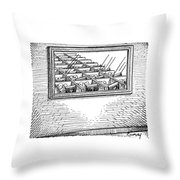 New Yorker May 12th, 2008 Throw Pillow