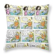 Mixed Marriage Throw Pillow