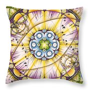 Up And Down In And Out Throw Pillow