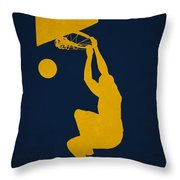Utah Jazz Throw Pillow