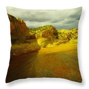 Utah Landscape Throw Pillow