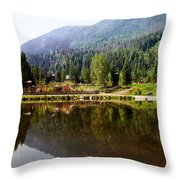 Vail Reflections Throw Pillow