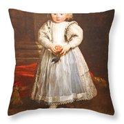 Van Dyck's Maddalena Cattaneo Throw Pillow