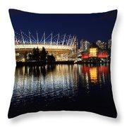 Vancouver British Columbia 3 Throw Pillow