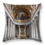 Versailles Chapel Throw Pillow