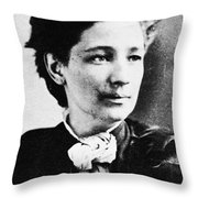 Victoria Claflin Woodhull (1838-1927) Throw Pillow