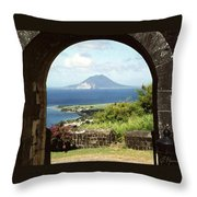 View From Brimstone Hill Fortress Throw Pillow