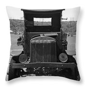 Vintage Stare Down Throw Pillow