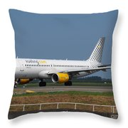 Vueling Airbus A320 Throw Pillow