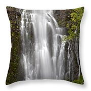 Wailua Falls II Throw Pillow