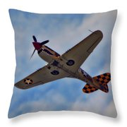 Warhawk Throw Pillow