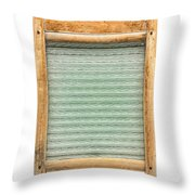 Washboard Throw Pillow by Olivier Le Queinec