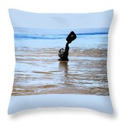 Waters Up Throw Pillow