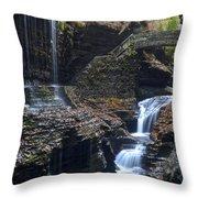 Watkins Glen Throw Pillow