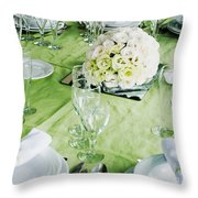 Wedding Table Throw Pillow