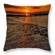 Welsh Sunset Throw Pillow