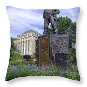 West Virginia Coal Miner Throw Pillow