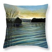 What A Beautifull Morning Throw Pillow