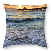 Whipped Cream Throw Pillow