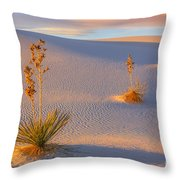 White Sands National Monument Throw Pillow