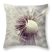 Wiesenbocksbart Throw Pillow