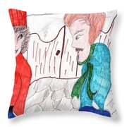 Will You Go Out With Me Throw Pillow