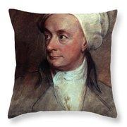 William Cowper (1731-1800) Throw Pillow